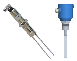 vibrating fork level switch for solids