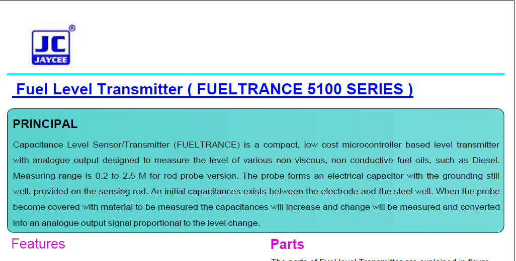Fuel-Level-Transmitter